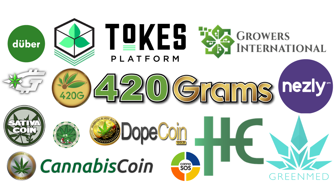 Tokens used in the Cannabis Industry